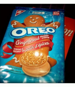 Oh, they DO exist!! #Oreo #Gingerbread from #TargetCanada #SeasonsTweeting!