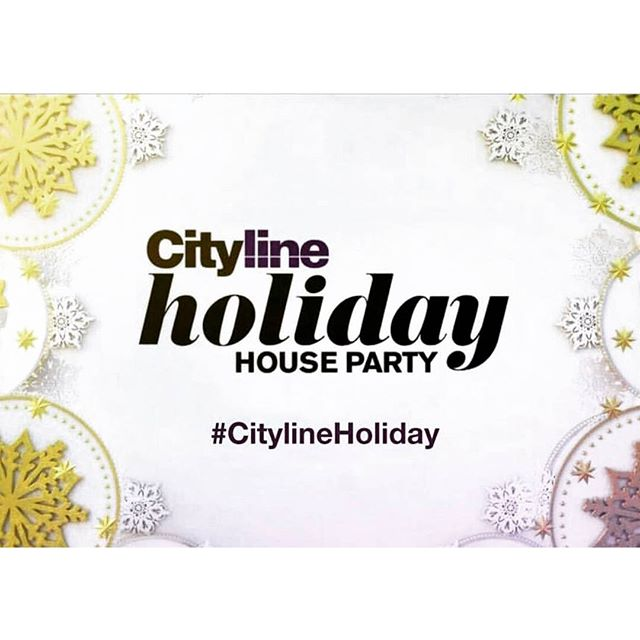 Less than 8 hrs 'til the @citylineca #primetime special airs! Tune in to @citytv at 8pm to catch the holiday fun in action! We'll all be live tweeting then, so join us on Twitter and follow hashtag #CitylineHoliday!!