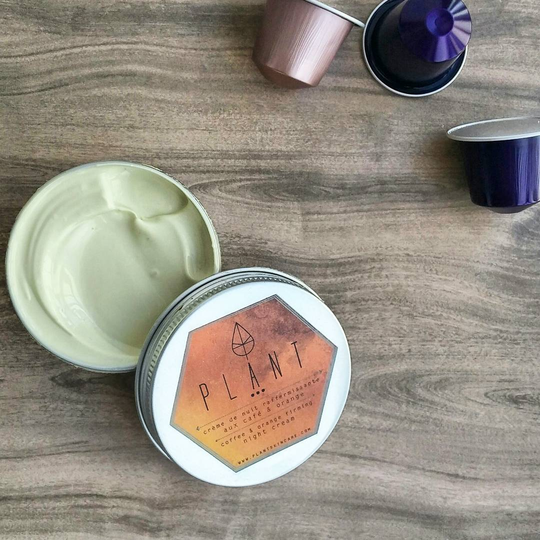 @plantskincare coffee&orange firming night cream is everything. Smell, texture, packaging ❤