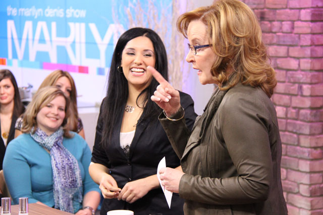 Marilyn Denis shot - 1