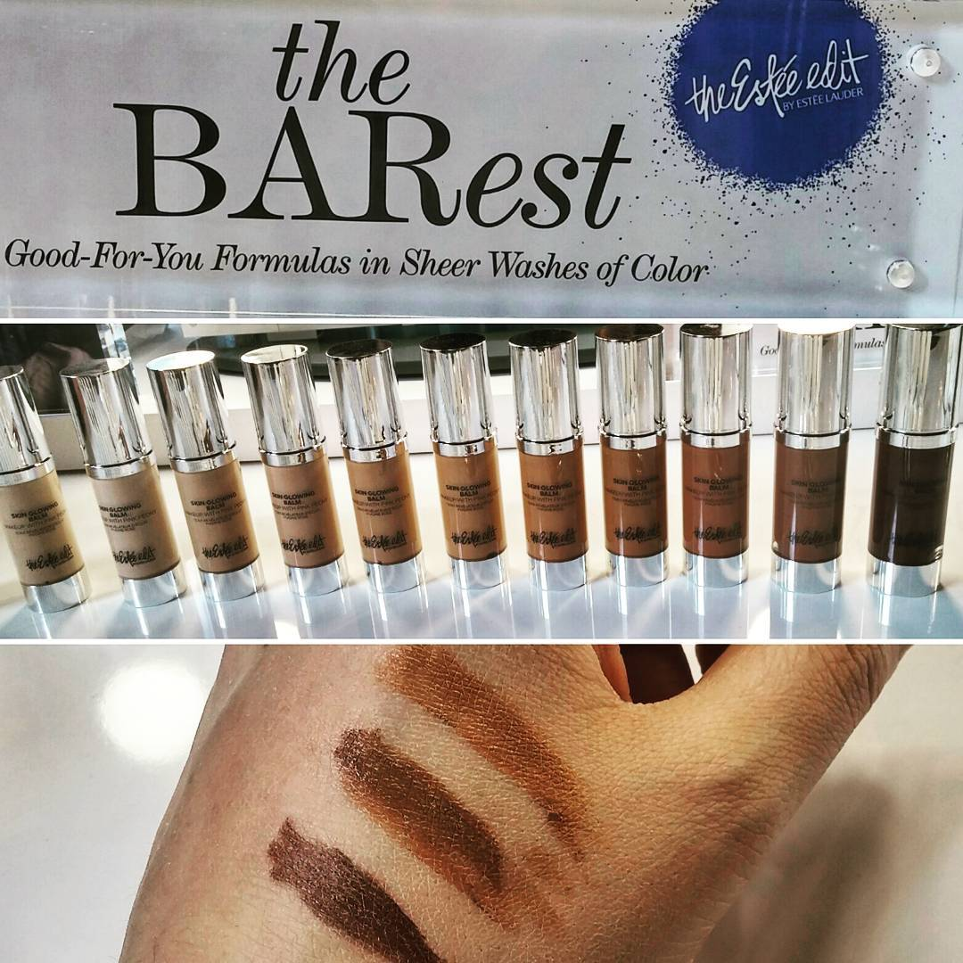 Three darkest shades from @theesteeedit color balm collection. Sheer to medium coverage and both warm & cool shades avail.  Not too shabby, #EsteeLauder.