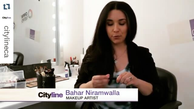 Latest little tidbit from @citylineca!  #Repost #TIPTUESDAY: How to cover up red spots from @baharniramwalla. Hint: this #beautytip includes a colour correcting stick! #citylinetips