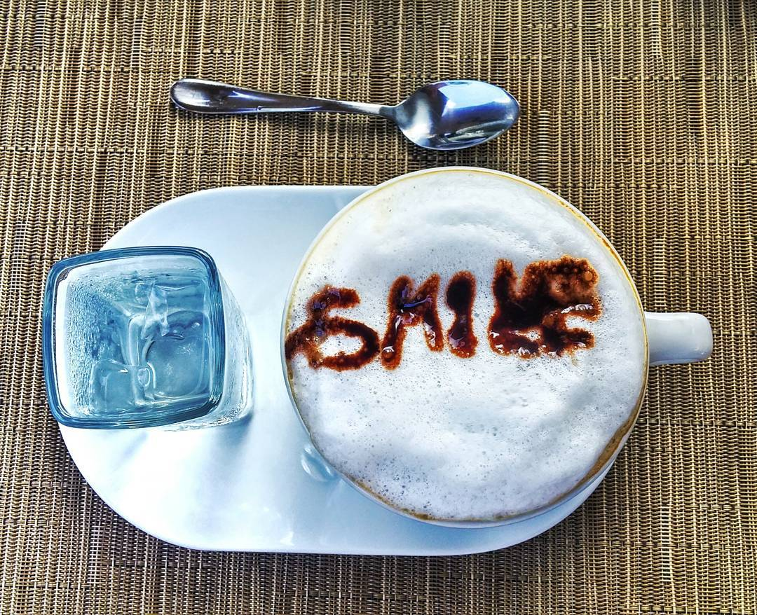 Even if it's a little crooked, don't forget to smile today! Happy Monday!