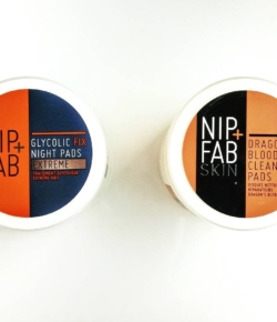 Circle, circle, dot, dot: now I've got my anti-aging, skin-hydrating cooties shot.  @nipandfab Dragons blood cleansing pads – $14.95 Glycolic fix night pads – $14.95 Avail. @shoppersdrugmartofficial