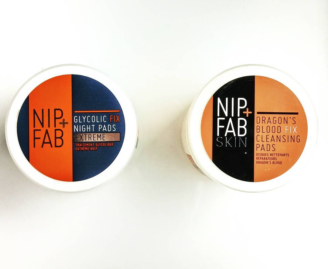 Circle, circle, dot, dot: now I've got my anti-aging, skin-hydrating cooties shot.  @nipandfab Dragons blood cleansing pads - $14.95 Glycolic fix night pads - $14.95 Avail. @shoppersdrugmartofficial
