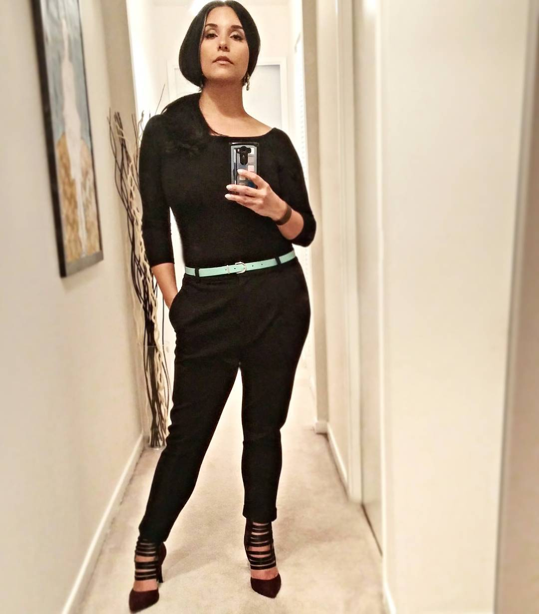 #OOTD for a taping of Cityline's Makeover Madness: @the_slm_ pant 2.0 (possibly my moat favourite pants. Ever.) @ninewestcanada burgundy heels (possibly the purdiest fall shoes. Ever.)
