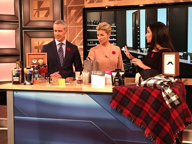 Men's grooming galore on this Nov. 1st @morningshowto segment (just in time for Movember!) with my top picks for shaving, skin care, hair care and more! 🔗 in bio 👆