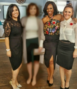 Unblur this stunning audience makeover *tomorrow* on @citylineca at 9 am & 4 pm, plus a shower-riffic beauty segment with my top body care recommendations, tips and tricks!