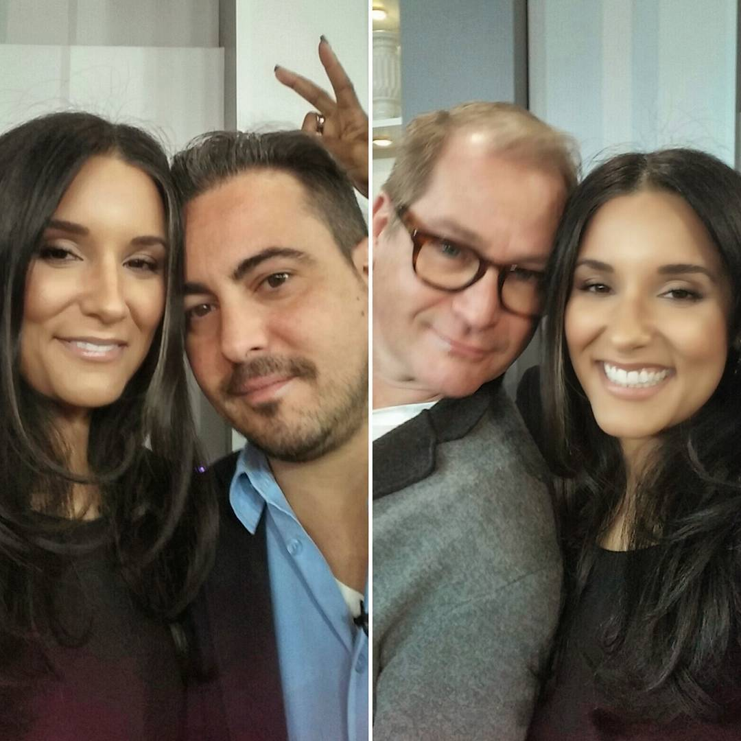 #TBT to on-set of a great @citylineca. #MakeoverMadness with these handsome devils