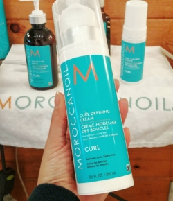 Got curls? Then get this: latest launch from @moroccanoil is all abt those waves & curls! The curl defining cream is both styling heaven & next-day revival! Lots more products in the line up – check them out online!#ArganEveryDay